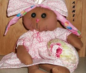 Karmel, a Chocolate Bunny Doll