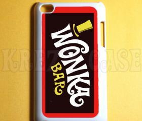iPod Touch 4 Case,Willy wonka bar Ipod 4G Touch Case, 4th Gen Ipod Touch Cases