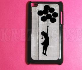 Ipod Touch 4 Case - Banksy Ballon girl Ipod 4G Touch Case, 4th Gen Ipod Touch Cases