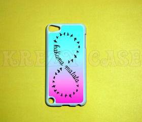 iPod Touch 5 Case, Forever love -Hakuna Matata ,Lion King iPod touch 5 Cases, iPod touch 5G Cover,Case for iPod touch 5