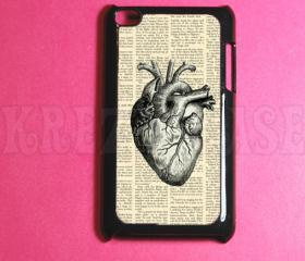 Ipod Touch 4 Case - Anatomy heart Ipod 4G Touch Case, 4th Gen Ipod Touch Cases