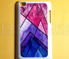 Ipod Touch 4 Case - Geometric Pattern Ipod 4G Touch Case, 4th Gen Ipod Touch Cases