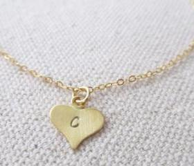 Personalized Initial Bracelet, 14kt Gold Filled Bracelet, Gift for Her