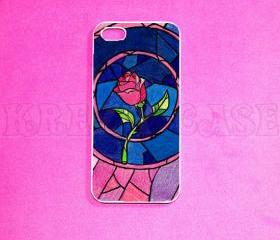 Iphone 5 Case, New iPhone 5 case Beauty and Beast iphone 5 Cover, iPhone 5 Cases, Case for iPhone 5