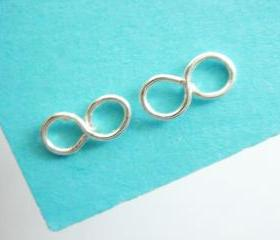 Cute Infinity Stud Earrings