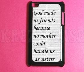 Ipod Touch 4 Case - Best Friends Ipod 4G Touch Case, 4th Gen Ipod Touch Cases