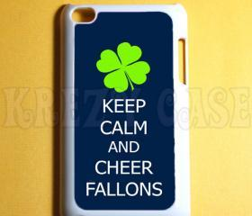 Ipod Touch 4 Case - Keep calm and cheer fallons Ipod 4G Touch Case, 4th Gen Ipod Touch Cases