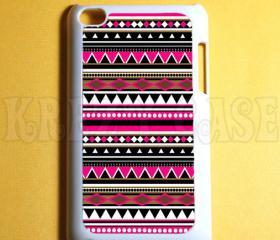 Ipod Touch 4 Case - Aztec Trible Pattern Ipod 4G Touch Case, 4th Gen Ipod Touch Cases