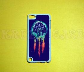 iPod Touch 5 Case, Dream catcher Blue ipod touch 5 Case, iPod touch 5G Cover,Case for iPod touch 5