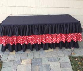 Mickey Mouse Ruffle Tablecloth