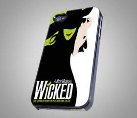 A New Musical WICKED on Hard Case for iPhone 4/4S