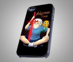 For iPhone 4/4S - Adventure time adventure on Hard Case