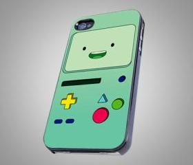 For iPhone 4/4S - Adventure Time Beemo - on Hard Case