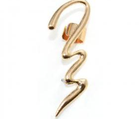 Swirl Cuff Earring