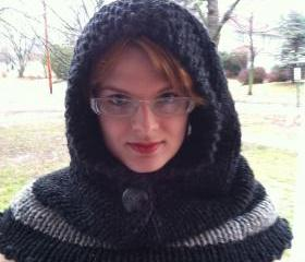 50 Shades of Grey Hooded Cowl Warm Women Gift Sexy