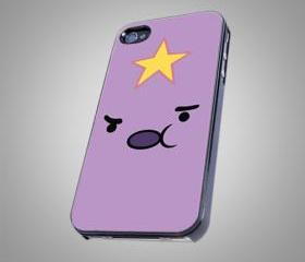 For iPhone 4/4S - Adventure Time Lumpy Space Princess - on Hard Case