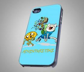 For iPhone 4/4s - Adventure time - on Hard Case