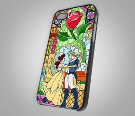 For iPhone 4/4S - Aeauty andThe Beast dance - on Hard Case