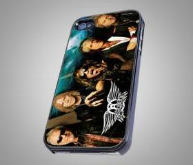 For iPhone 4/4S - AEROSMITH Rock Band - on Hard Case