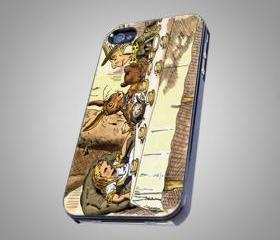 For iPhone 4/4S - Alice in Wonderland Tea Party - on Hard Case