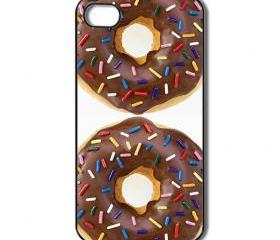 Doughnut / Donut iPhone 4 /4s / 5 Case / Cover. Silicone Rubber / Hard Plastic 