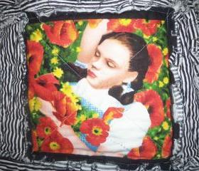 Wizard of Oz Purse, Tote, Messenger Bag Dorothy Poppy