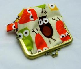Silly Coin Purse - Owls