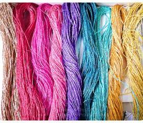 Colorful Jute String