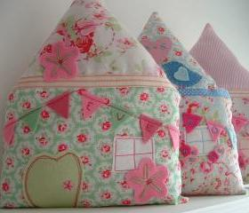 Little House Personalised Pillow - FLUTTERBY