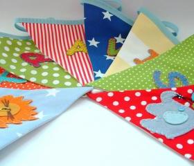Personalized Bunting - RAINBOW