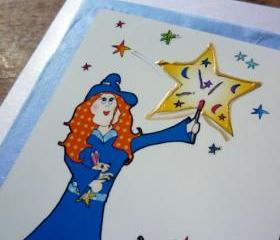 Lilly's stars card (Bessie Friends Range)
