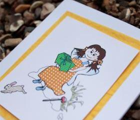 Bessie's Treats card (Bessie friends card)