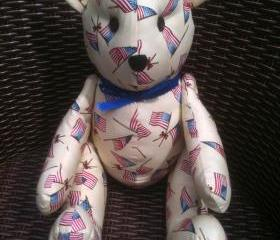 Teddy Bear with jointed arms and legs