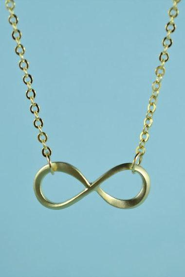 Forever Love: Infinity Necklace