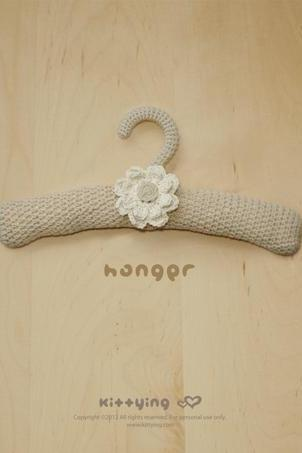 Khaki Hanger Crochet PATTERN, SYMBOL DIAGRAM (pdf) by kittying