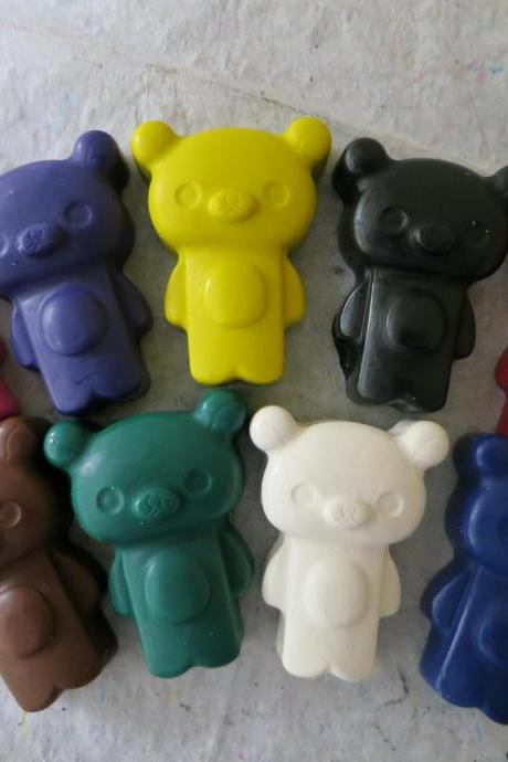 Kawaii Bear Crayons Set of 28