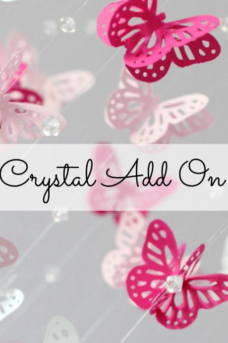 ADD CRYSTALS to any mobile of your choice...