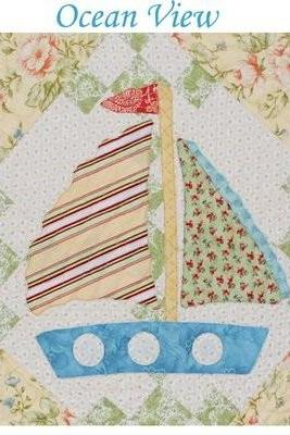 OCEAN VIEW QUILT PATTERN FROM MARGOT LANGUEDOE DESIGNS