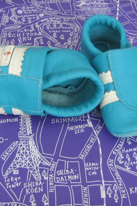 milchdealer leather baby shoes 'sneakers'