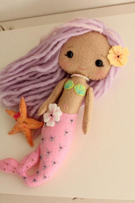 Mermaid Girl pdf Pattern