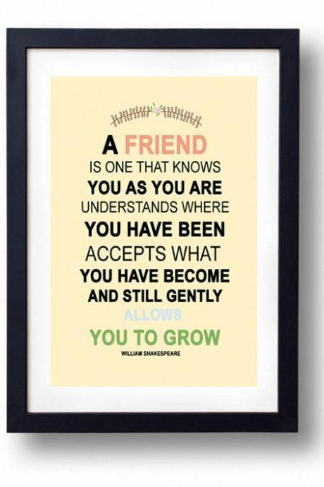 Gift for a Sister, Best Friend, Inspirational Life Saying