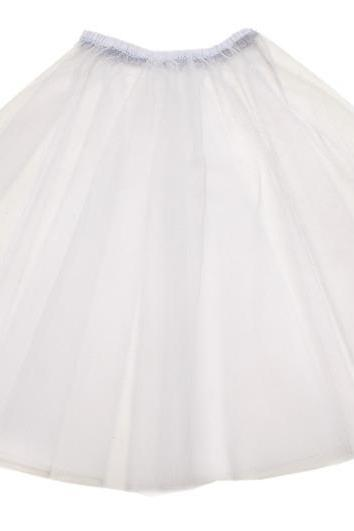 17' White 50s Inspired Net Petticoat