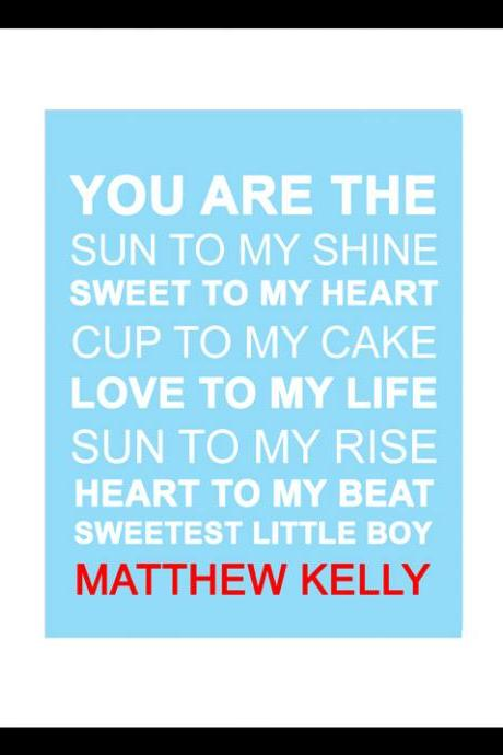 You are the Sun to My Shine-Baby Boy Nursery Art