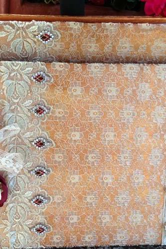 Wedding Guest Book and Photograph Album- Indian inspired vintage style