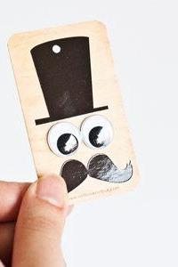 4 Funny Gift Tags with Goggly Eyes