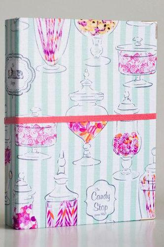 Candy Jar Binder Folder with 2 refill packs