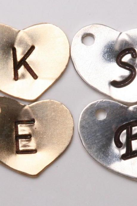 For tydesign Jewelry buyer ONLY,will not be sold separately.Add Sterling Silver heart initial letter charm,monogram charm,personalized