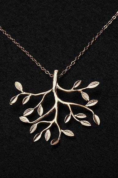 ON SALE-Family Tree Necklace,Gold Filled Necklace,Birthday,Sisterhood,Best Friend,Everyday Jewelry,Keepsake, Heirloom, Love