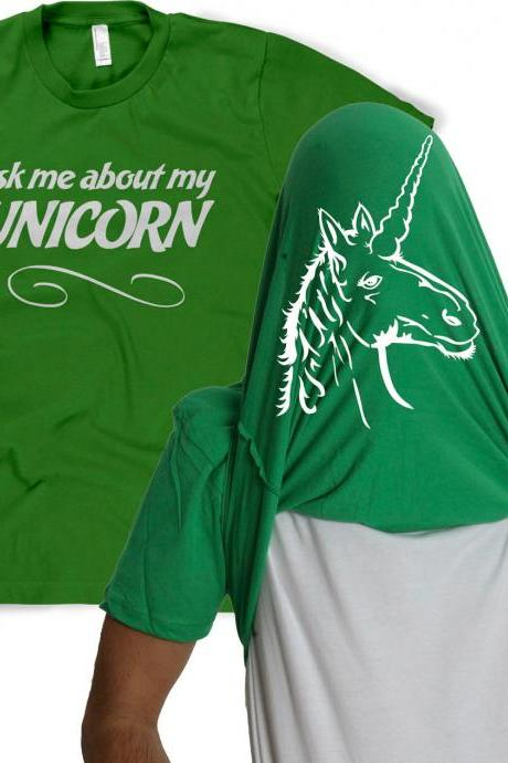 Unicorn Flip shirt funny unicorn disguise S-4XL