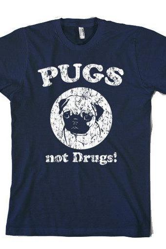 Pugs t shirt funny dog t shirt S-4XL